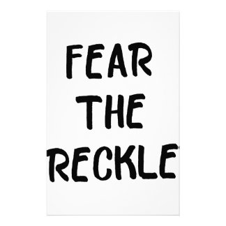 Fear the Freckles Stationery