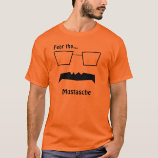 Fear the Mustache- Ed Lee for Mayor T-Shirt
