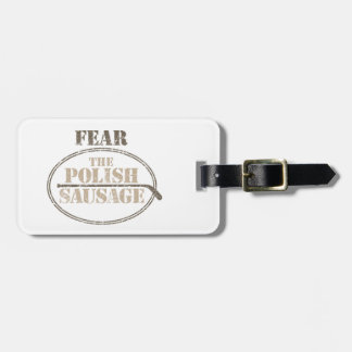 Fear the Polish Sausage (Hockey) Bag Tag