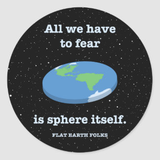 Fear the Sphere Classic Round Sticker