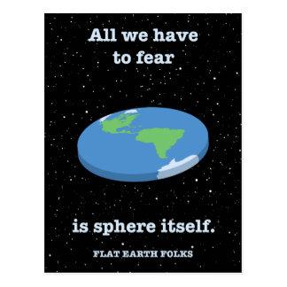Fear the Sphere Postcard
