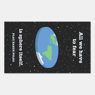 Fear the Sphere Rectangular Sticker