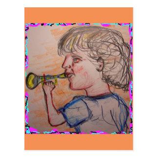 fear the trumpet postcard