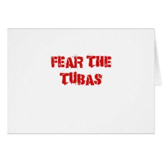 Fear the Tubas Card