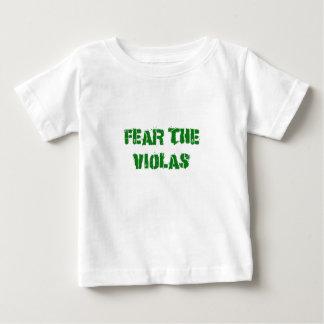 Fear the Violas Baby T-Shirt