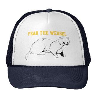 Fear the Weasel Trucker Hat