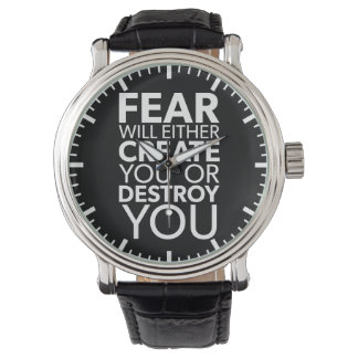 Fear Will Create Or Destroy You - Inspirational Watch