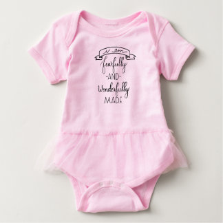 Fearfully and Wonderfully Made, Baby Girl Jumpsuit