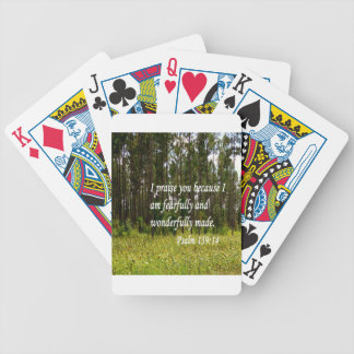 Fearfully and Wonderfully Made Poker Deck