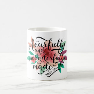 Fearfully and Wonderfully Made Psalm 139:14 Coffee Mug