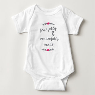 Fearfully & Wonderfully Made Jumpsuit