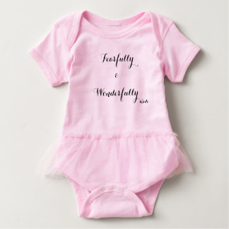 Fearfully & Wonderfully made. Outfit. Baby Bodysuit