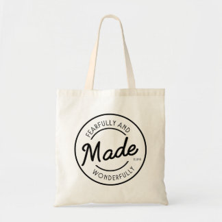 Fearfully & Wonderfully Made Vintage Stamp Tote Bag