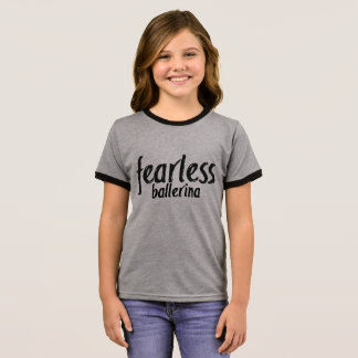 Fearless Ballerina Ringer T-Shirt