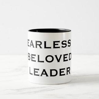 FEARLESS & BELOVED LEADER Two-Tone MUG