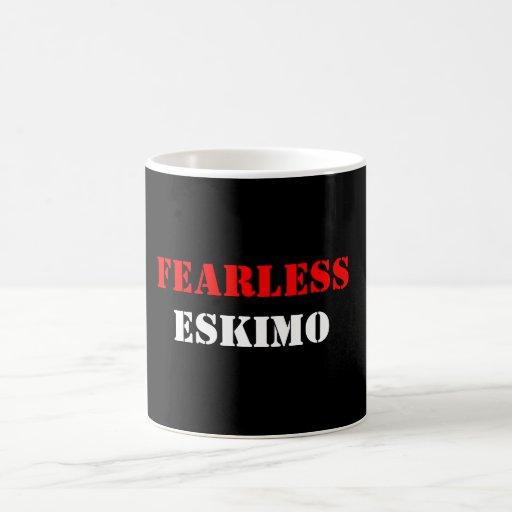 FEARLESS ESKIMO COFFEE MUGS