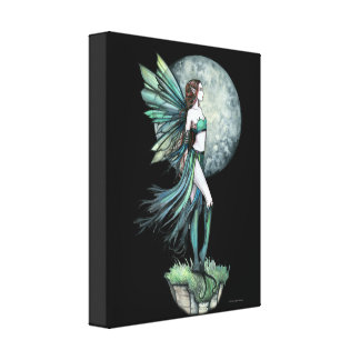 Fearless Fairy Gallery Wrapped Canvas Print