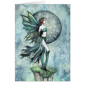 Fearless Fairy Greeting Card by Molly Harrison