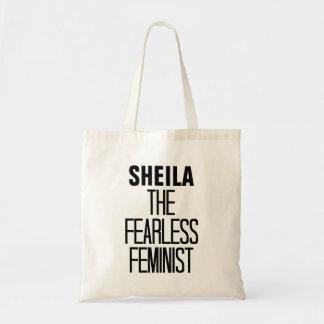 Fearless Feminist Canvas Bags