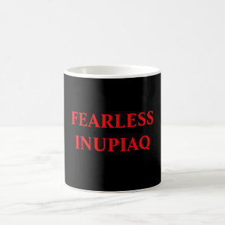 FEARLESS INUPIAQ CLASSIC WHITE COFFEE MUG