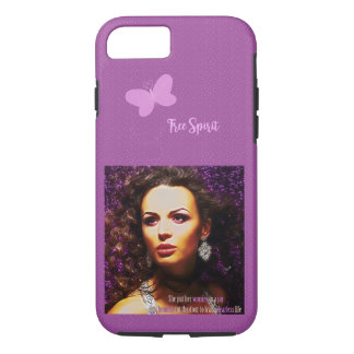 Fearless Lady iPhone 7 Case