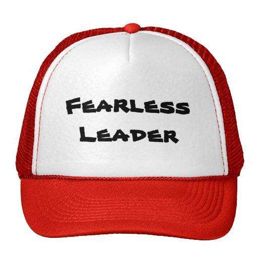 Fearless Leader Cap Trucker Hats