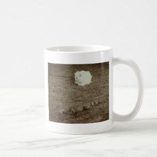 fearless classic white coffee mug