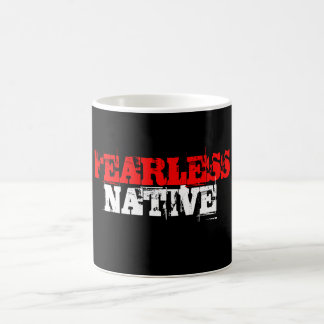 FEARLESS NATIVE BASIC WHITE MUG