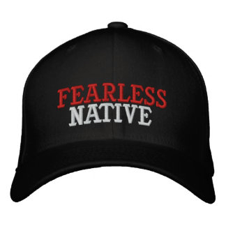 FEARLESS NATIVE EMBROIDERED HATS