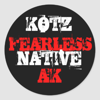 FEARLESS, NATIVE STICKERS