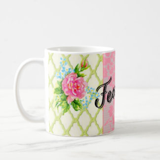 Fearless pretty pastel mug