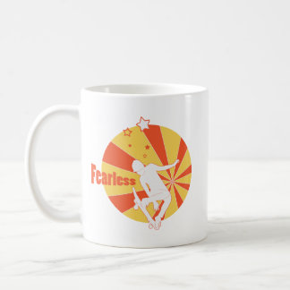 Fearless Skater Jumping Coffee Mug
