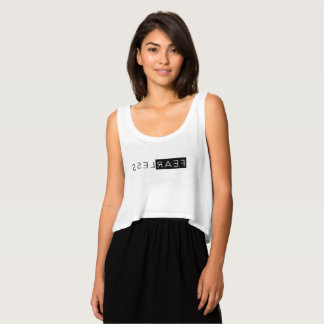 Fearless Tank Top (Reverse in the Mirror)
