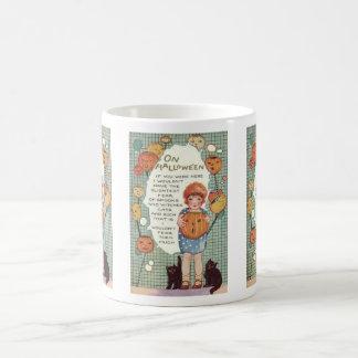 Fearless With You Vintage Poem Basic White Mug