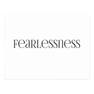 fearlessness Strong powerful Fearless Postcard