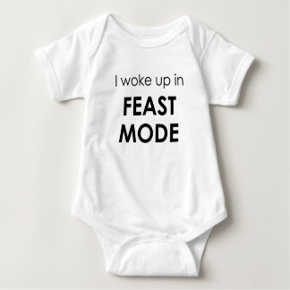 Feast Mode Baby Onesy Baby Bodysuit