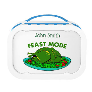 Feast Mode Funny Thanksgiving Lunch Box