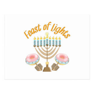 Feast Of Lights Postcard
