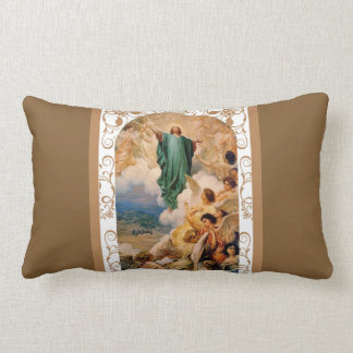 Feast of the Ascension of Jesus into Heaven Lumbar Cushion