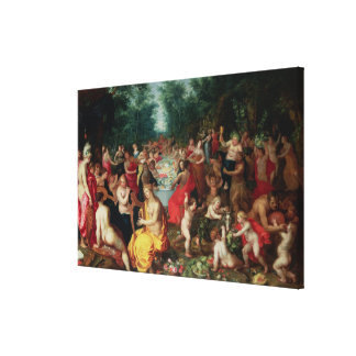 Feast of the Gods Canvas Print