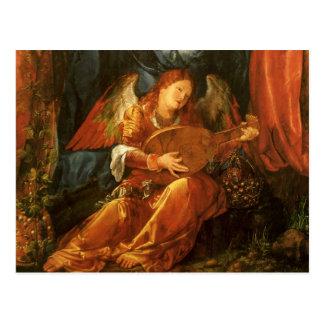 Feast of the Rose Garlands Angel by Albrecht Durer Postcard
