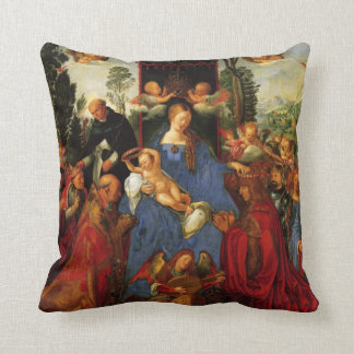 Feast of the Rose Garlands Cushion
