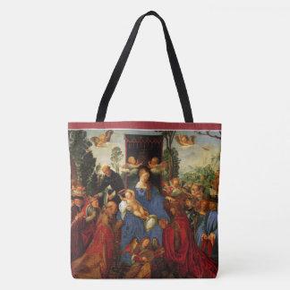 "Feast of the Rose Garlands ""fête de la Rose guirla Tote Bag"