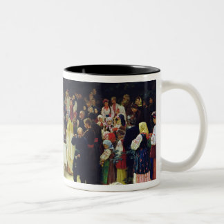 Feast of the Transfiguration of Our Lord Two-Tone Coffee Mug