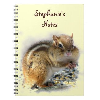 Feasting Chipmunk Notebook