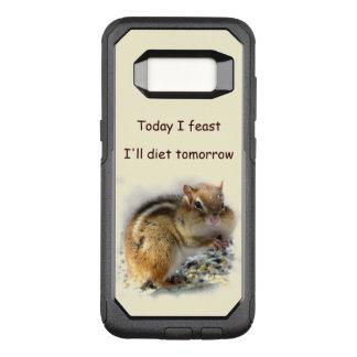 Feasting Chipmunk OtterBox Galaxy S8 Case