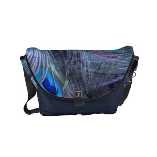 Feather Abstract Courier Bags