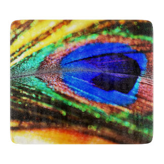 Feather by Shirley Taylor Cutting Board