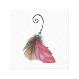 Feather curl  Canvas