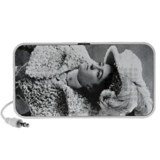 Feather Lady Notebook Speaker